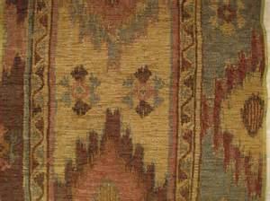 southwestern ikat chenille upholstery designer fabric