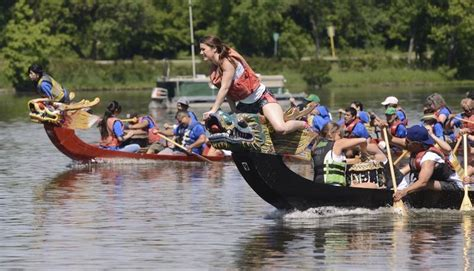 dragon boat grill families find variety at st charles riverfest