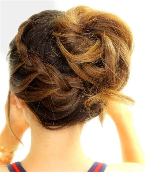 Simple Fancy Hairstyles by 18 And Simple Updo Hairstyles For Medium Hair