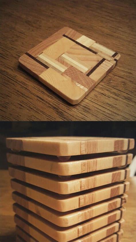 scrap wood coasters scrap wood projects wooden coasters