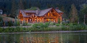 Lake Cabin Plans timber king s log home masterpiece luxuryhomes com