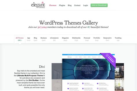 elegant themes gallery how to launch your graphic design portfolio in 20 minutes