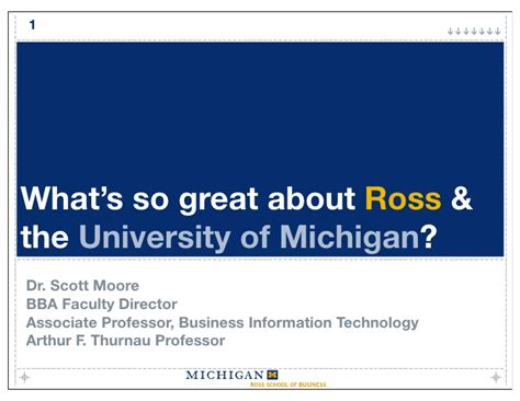 Of Michigan Mba Statistics by What Is So Great About Ross And The Of Michigan
