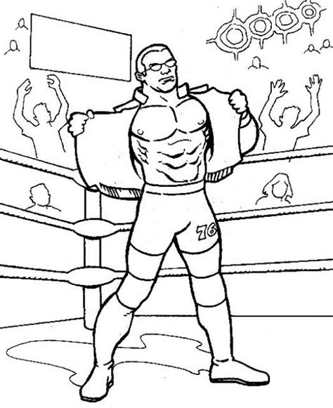 wwe coloring pages hulk hogan coloriage catch 224 colorier allofamille