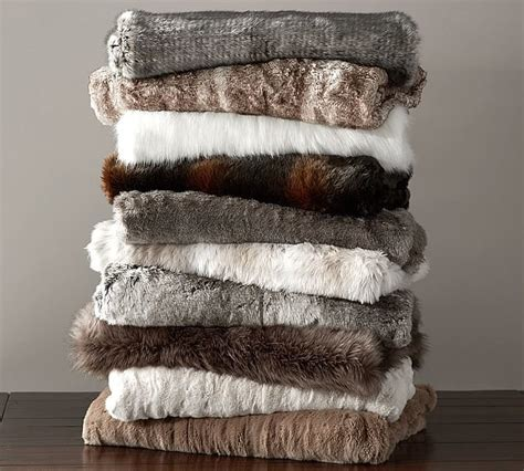 faux fur home decor popsugar home faux fur throws the top 10 wedding registry items might