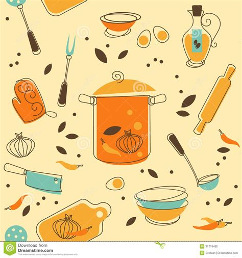 pattern language kitchen kitchen utensil stock photo image 31719490