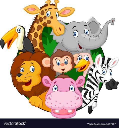 safari clipart safari animals royalty free vector image