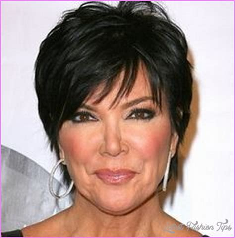 back of chris jenner s hair short haircuts kris kardashian latest fashion tips