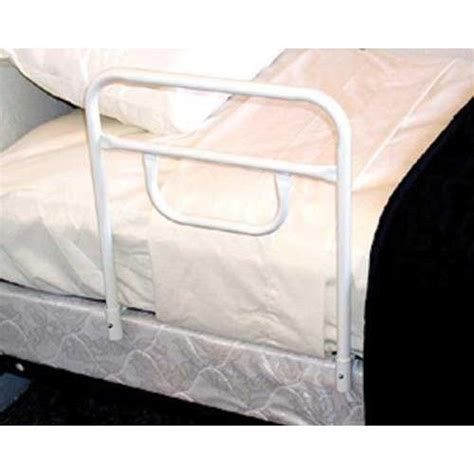 2 sided 18 quot bed rails single rail prevents rolling out of bed while providing safety and
