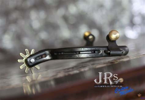 Handmade Spurs In - jrs custom metals rasp spurs jrs gentle custom