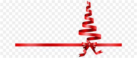 christmas tree ribbon png    transparent christmas png