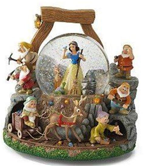 10 best snow white and the seven dwarfs snow globes images