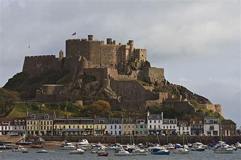 Jersey Castle mont orgueil castle gorey jersey channel islands