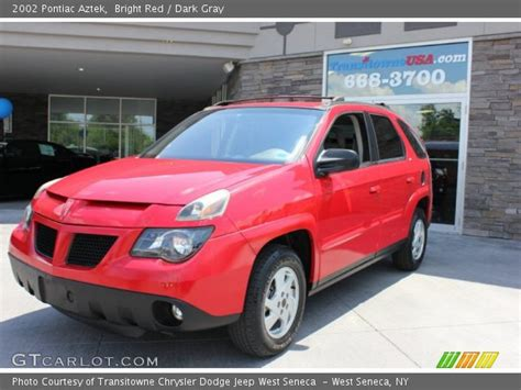 pontiac aztek red bright red 2002 pontiac aztek dark gray interior