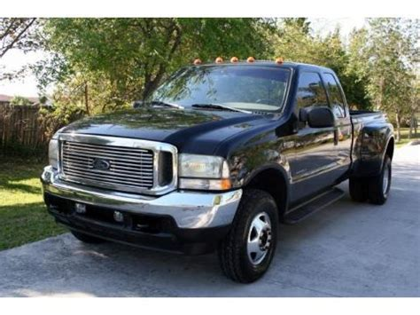 ford  super duty lariat supercab  dually data