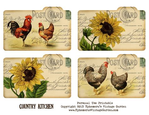 country recipe card templates free 6 best images of free printable vintage recipe cards