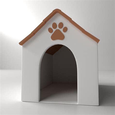 dog house models dog house 3d model 3ds fbx blend dae cgtrader com