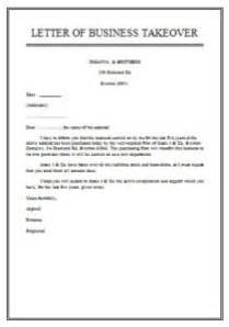 Introduction Letter Taking Business Business Takeover Agreement Sle Sles Business Letters