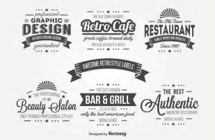 retro logo templates 15 free vintage logo template collections