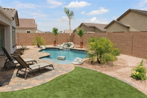simple backyards simple backyards presidential pools spas patio of arizona