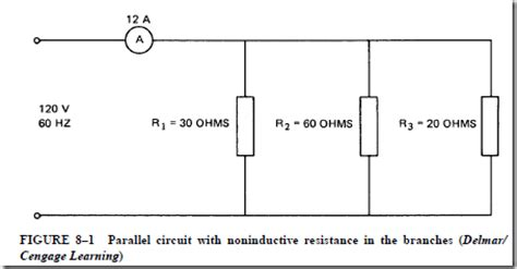 parallel resistor load ac parallel circuits introduction parallel circuit with resistive load parallel circuit