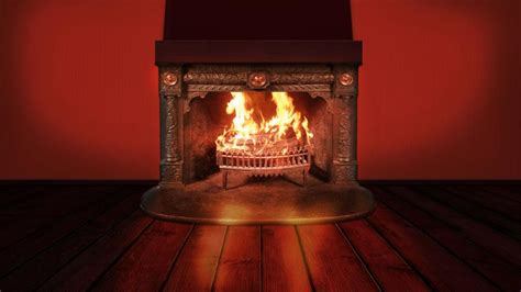 1080p Fireplace by Fireplace Background Wallpaper Freechristmaswallpapers Net