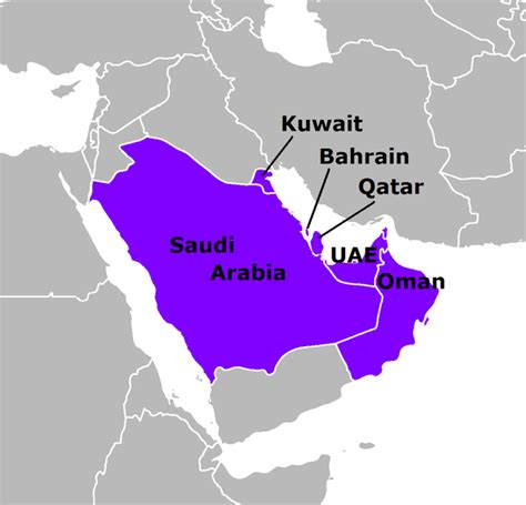 Gcc Countries Map Outline by Land Destroyer Introducing The Gulf State Despots 10 Facts About Saudi Arabia