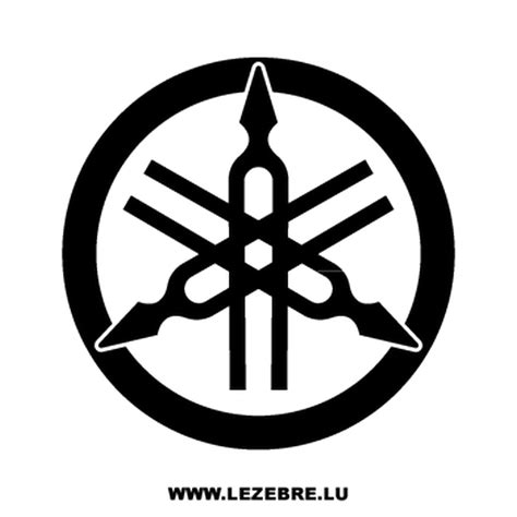 yamaha logos autocollant yamaha nouveau logo