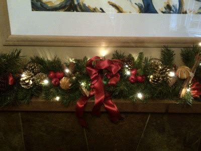 decorated garlands with lights decorated garland with lights 9ft wreaths direct