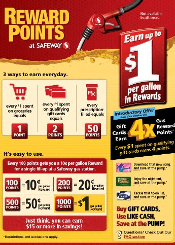 Safeway Gift Card Promotion - giveaway win a 50 safeway gift card safeway gas promotion happy money saver