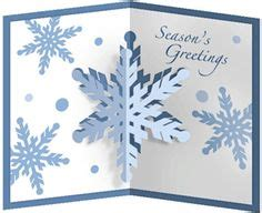 snowflake pop up card template card pop up crown i think i m in