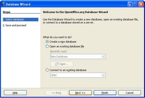 Membuat Database Untuk Register   open office base untuk membuat database apakah adalah