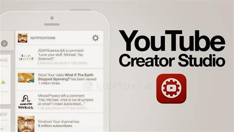 download youtube creator studio youtube creator studio app available on the app store