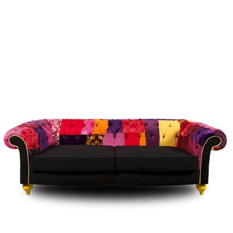 Funky Chesterfield Sofa by Patchwork Chesterfield Sofa Cool Furniture