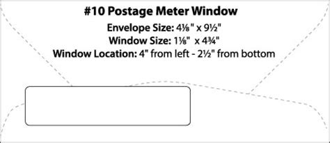 Envelope Templates Commercial Window Envelope Template Wsel 10 Window Envelope Template