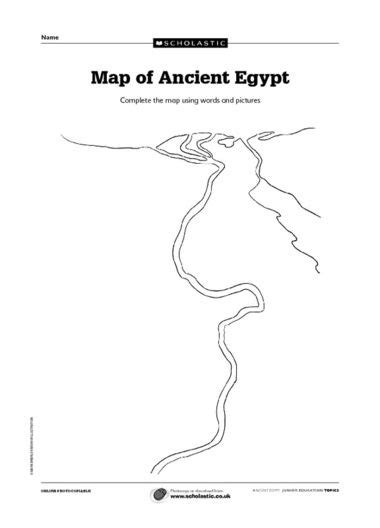 printable map ancient egypt printable blank fill in map of ancient egypt