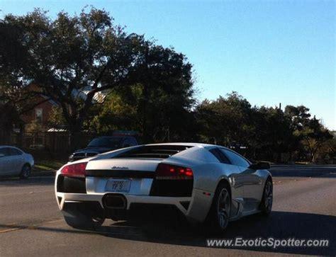 Lamborghini San Antonio Tx Lamborghini Murcielago Spotted In San Antonio On 12