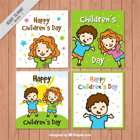 s day card free children s day cards collection vector free