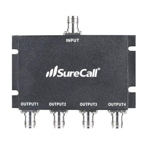 surecall wide band   splitter tnc  input  output