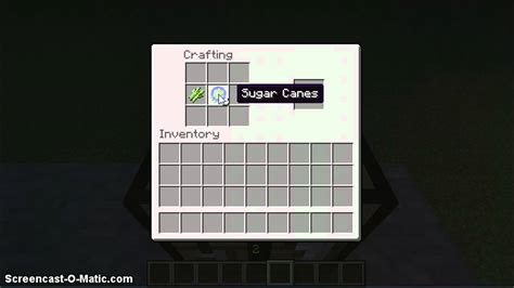 Minecraft How To Craft A Paper - how to make paper on minecraft
