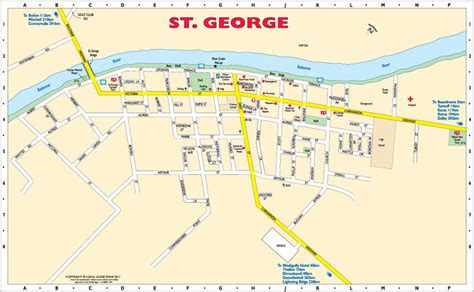 map of st and st st george balonne shire queensland maps
