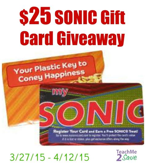 Sonic Gift Card - sonic s 174 25 hand mixed shake flavors giveaway funtastic life