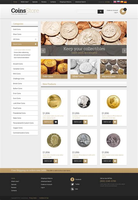 os commerce templates antique store oscommerce template 52580