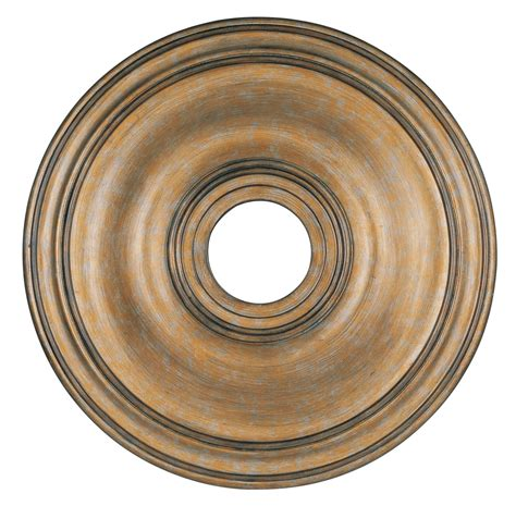 livex lighting ceiling medallion antique gold leaf 8219 48