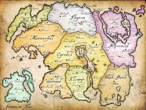 Elder Scrolls Online World Map by Nirn The Elder Scrolls Wiki