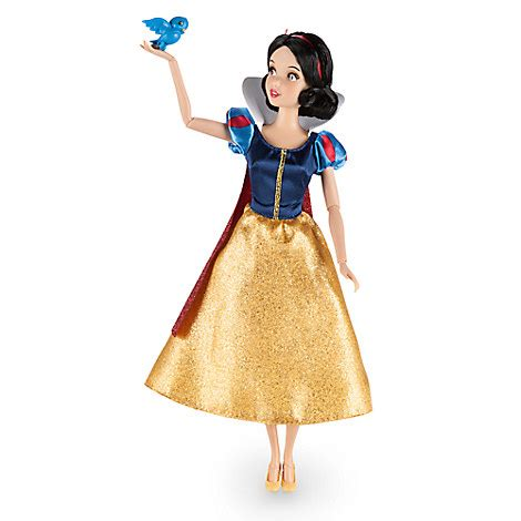 Figure Moana Isi 12 Patung snow white classic doll with bluebird figure 12