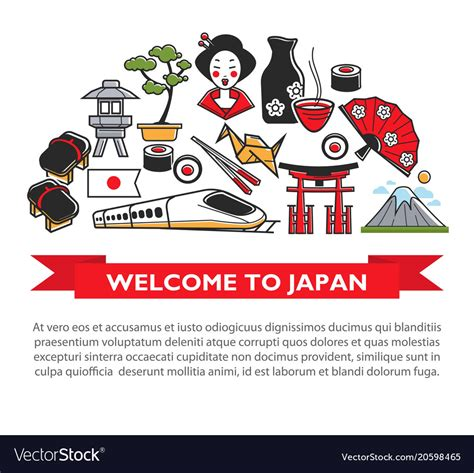Welcome To Japan welcome to japan travel poster of japanese culture