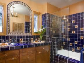 Mexican Tile Bathroom Designs choosing a bathroom backsplash hgtv