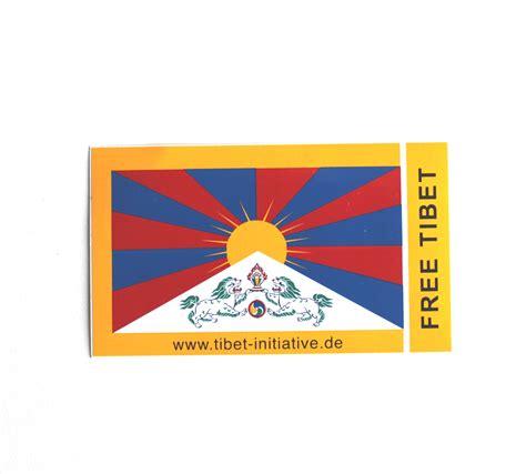 Aufkleber Online Shop by Aufkleber Tibetflagge Klein Tibet Online Shop