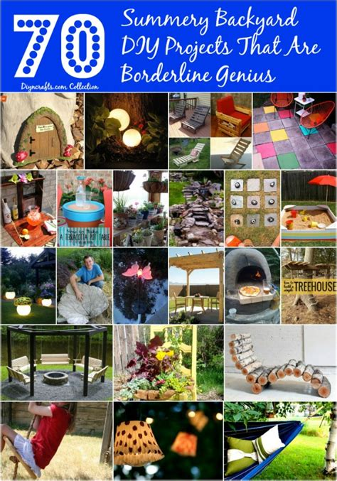 Backyard You Can Make 70 Summery Backyard Diy Projects That Are Borderline
